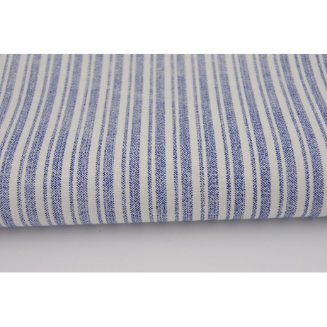 Cotton 100% washed blue stripes