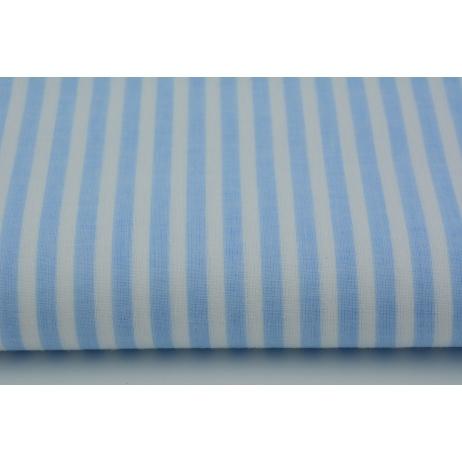 Bawełna 100% paski niebieskie 5mm