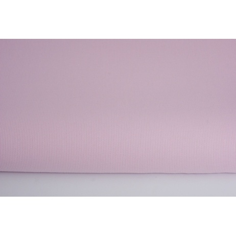 Ribbed cotton pink plain