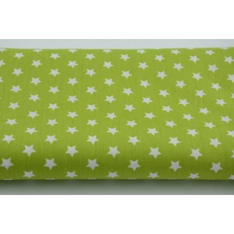 Gwiazdki 1cm na zielonym tle