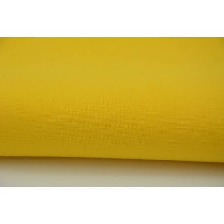 Bawełna 100% żółta jednobarwna