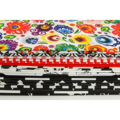 Fabric bundles No. 249 OA 30x140cm