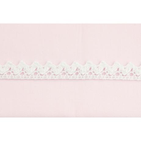 Cotton lace 15mm in a white color No. 2
