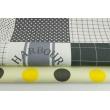 Bawełna 100% patchwork XL grafitowy