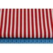 Cotton 100% burgundy stripes 5mm