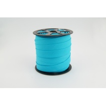 Cotton bias binding bright turquoise