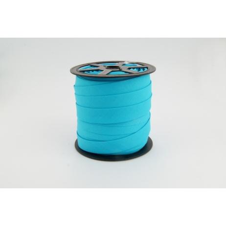 Cotton bias binding bright turquoise