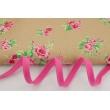 Cotton edging ribbon dark pink