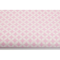 Cotton 100% mini light pink morocco