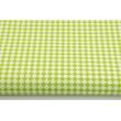 Bawełna 100% mikro romby zielone