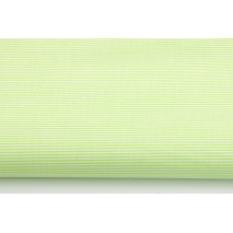 Cotton 100% celadon small stripes pattern