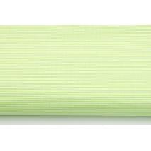 Cotton 100% celadon small stripes pattern