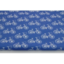 Knitwear 100% cotton bikes on a dark blue background