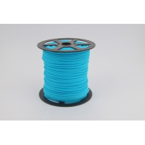 Cotton edging ribbon bright turquoise