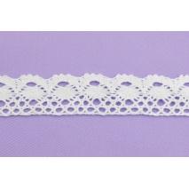Cotton lace 34mm, white