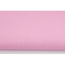 Cotton 100% with linen print pink