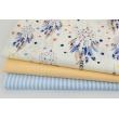 Cotton 100% dreamcatchers on a cream background