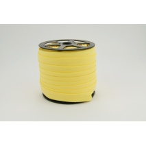 Cotton bias binding yellow 18mm