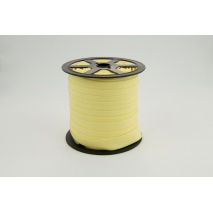 Cotton bias binding light yellow 18mm