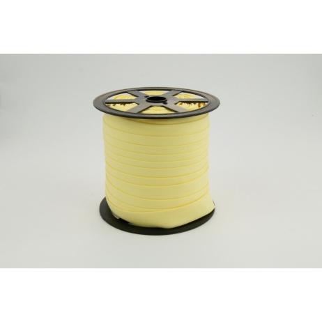Lamówka bawełniana jasny żółty 18mm