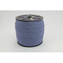 Cotton bias binding 2mm navy stripes