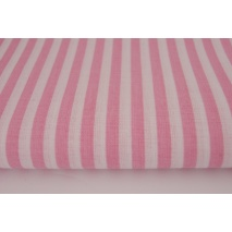 Cotton 100% pink stripes 5mm