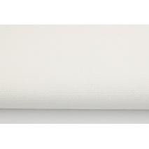 Bawełna 100% dekoracyjna, biała jednobarwna 220g/m2