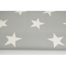 Home Decor, big stars on a gray background 220g/m2