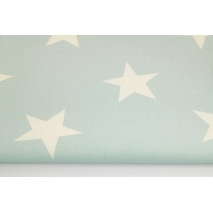 Home Decor, big stars on a powder mint background 220g/m2