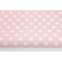 Home Decor, dots 12mm on a pink background 220g/m2