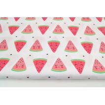 Cotton 100% watermelons on a white background