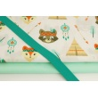 Cotton bias binding sea green