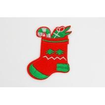 Iron-on Christmas Stocking