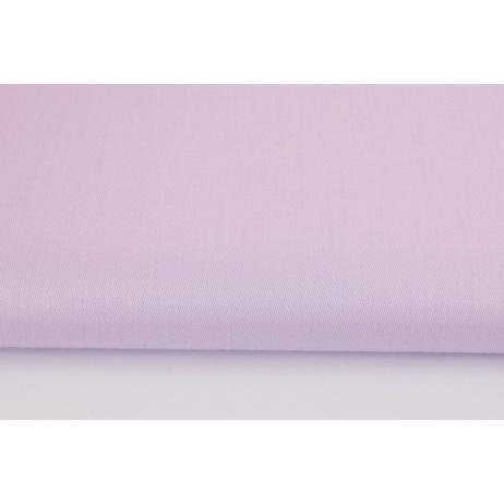 Cotton 100% plain delicate violet sateen