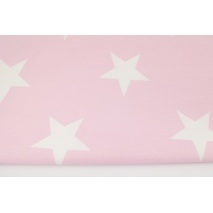 Home Decor, big stars on a pastel pink background 220g/m2