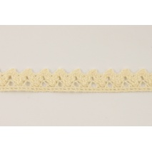 Cotton lace 15mm in a cream color No. 2