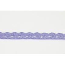 Koronka bawełniana 15mm, fioletowa (fala)