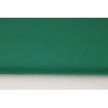 Drill, 100% cotton fabric in plain emerald colour