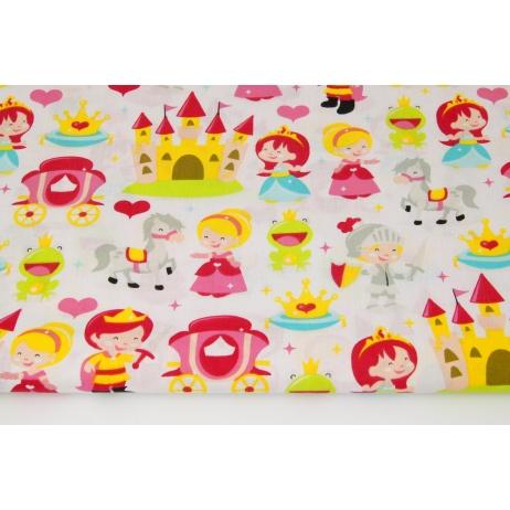 Cotton 100% princesses on a white background