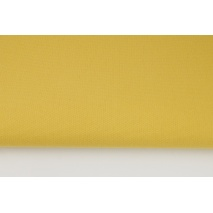 HOME DECOR plain mustard 100% cotton