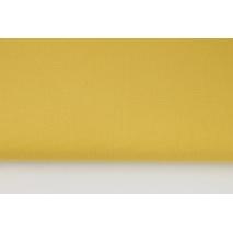 HOME DECOR plain mustard 100% cotton