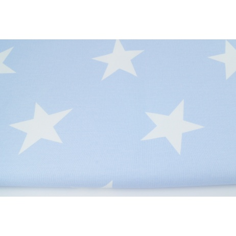 Home Decor Big Stars On A Baby Blue Background 220g M2