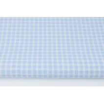 Cotton 100% batiste, double blue check (very soft)