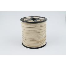 Wypustka 100% bawełna, beżowa (jasna)