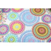 Bawełna 100% kolorowy wzór orientalny