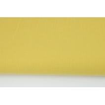 Bawełna 100% musztardowa, jednobarwna