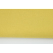 Cotton 100% plain mustard
