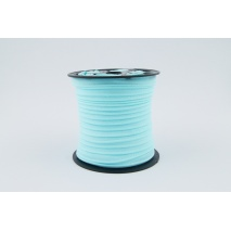 Cotton edging ribbon shining turquoise