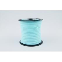 Cotton edging ribbon shining turquoise