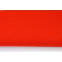 HOME DECOR plain dark orange 100% cotton